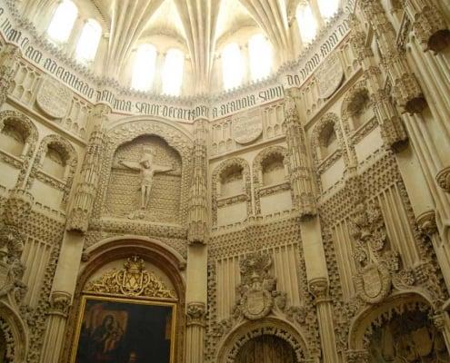 Interior de la mejestuosa capilla de los Velez