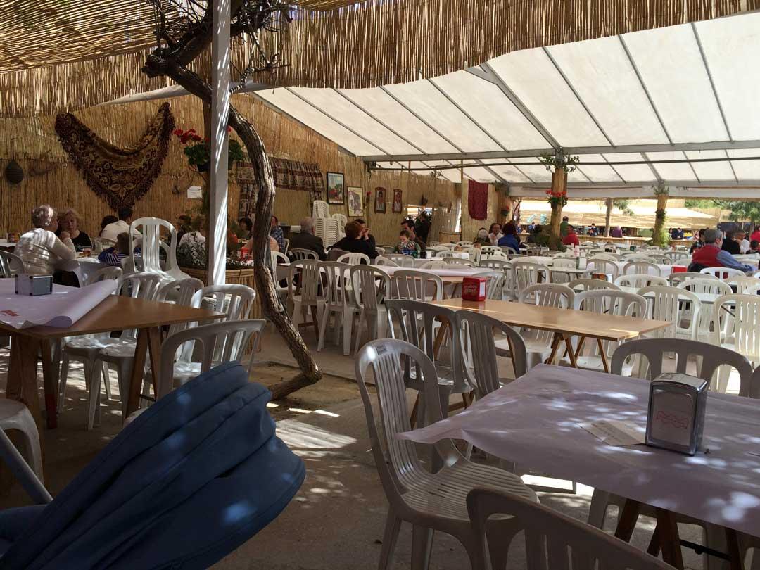 barracas fiestas de Murcia