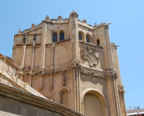 Exterior de la capilla de los velez
