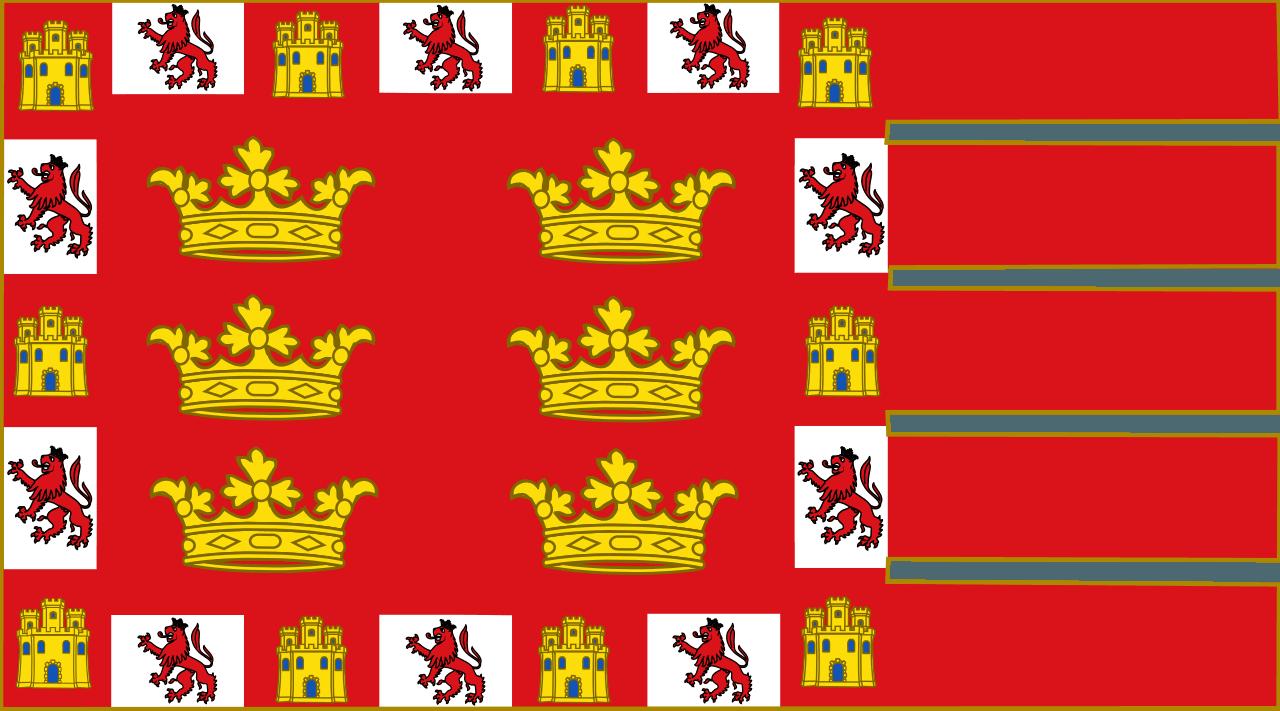 bandera de murcia Pedro primero