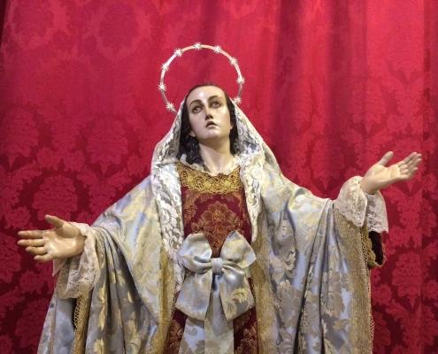 La Dolorosa de Roque López Cofradía de la Sangre