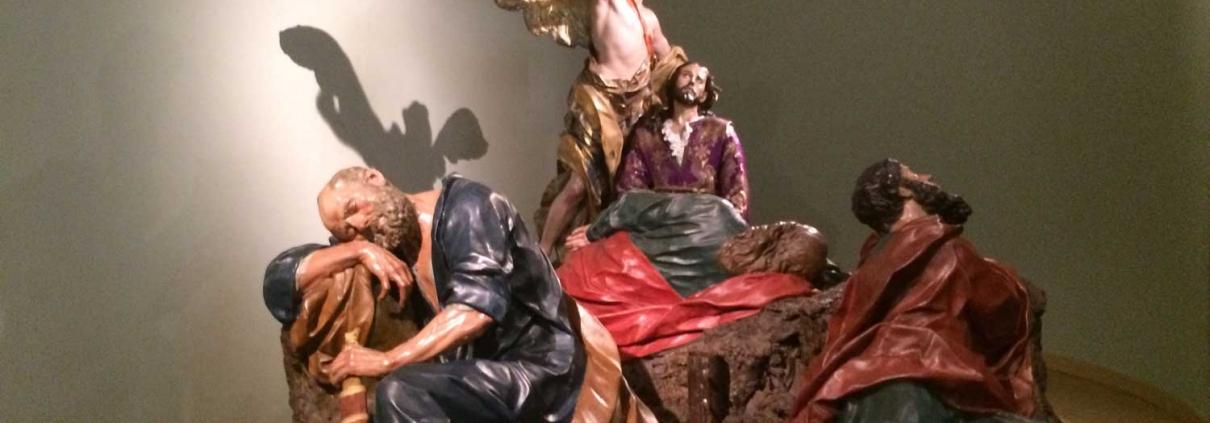Conjunto escultórico de La oración en el Huerto de Salzillo